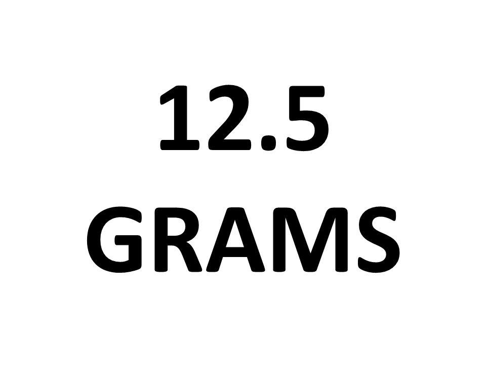 12.5 GRAMS