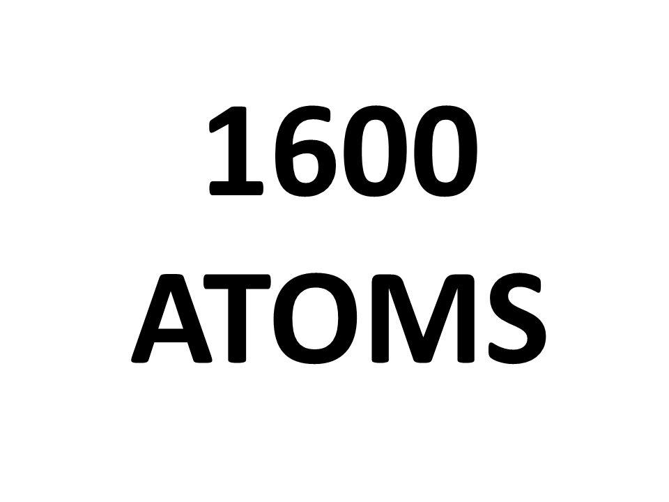 1600 ATOMS