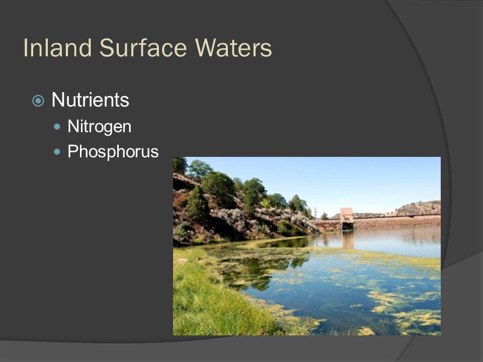 Inland Surface Waters  Nutrients Nitrogen Phosphorus