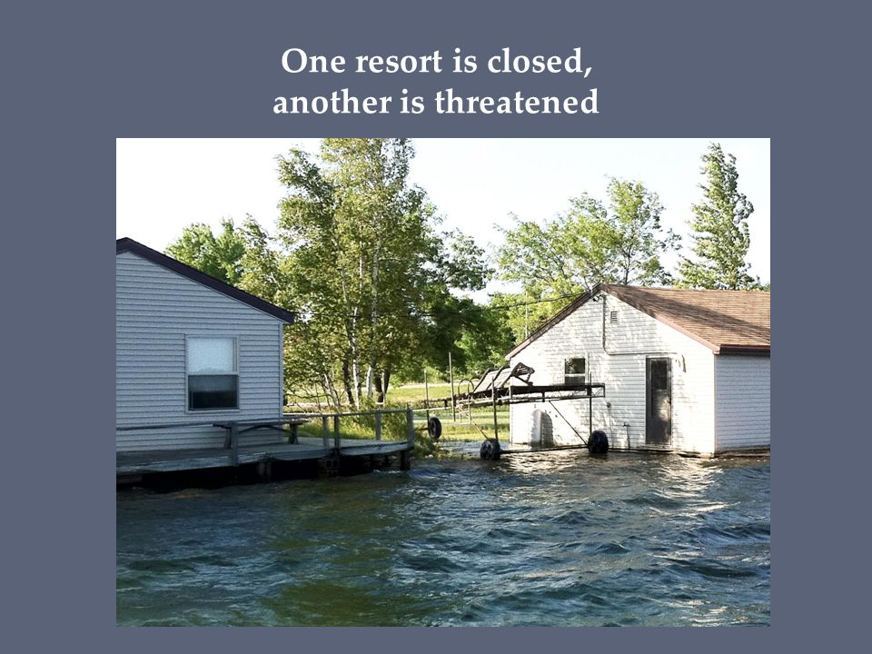 One resort is closed, another is threatened