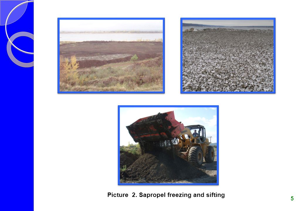 Picture 3. Sapropel drying and granulating (pelleting) 6