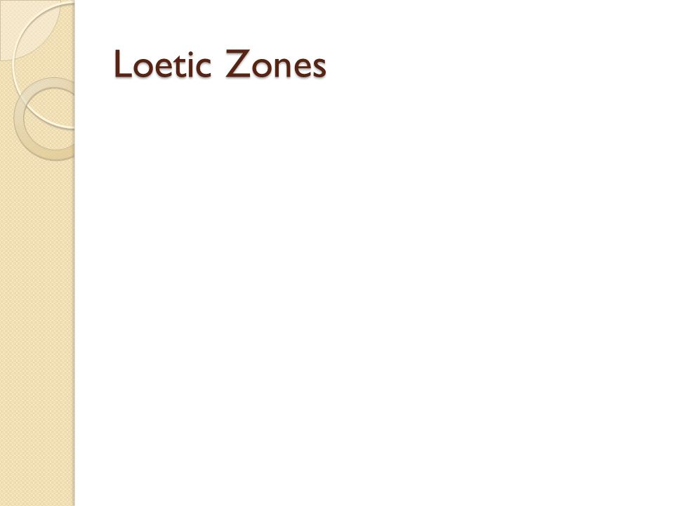 Loetic Zones