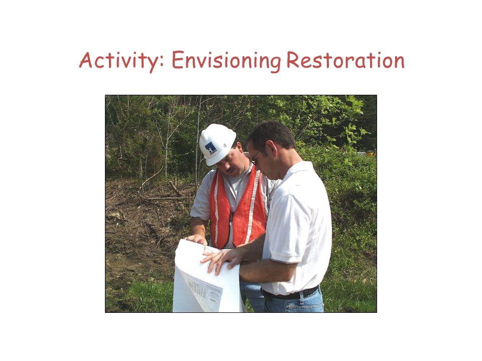 Activity: Envisioning Restoration