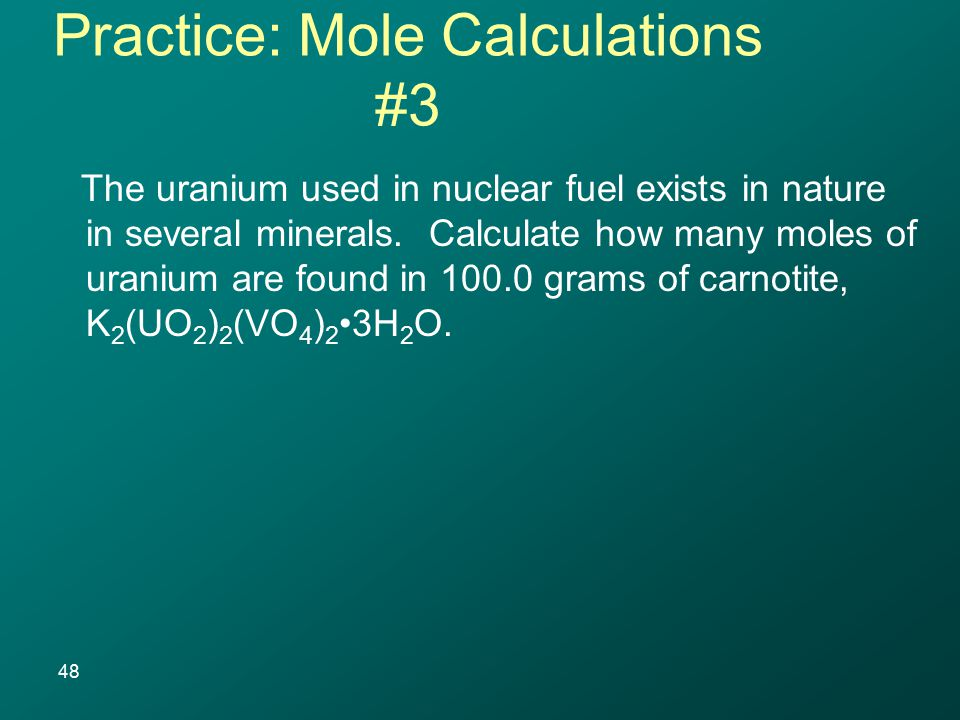 The uranium used in nuclear fuel exists in nature in several minerals.