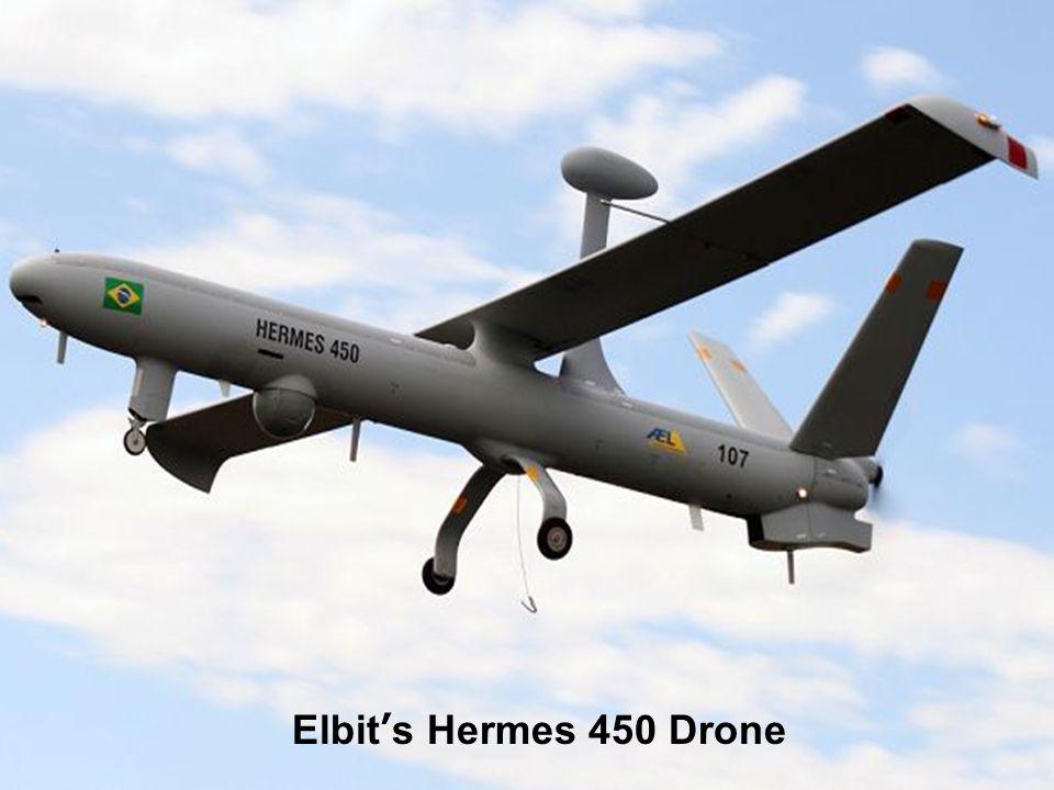Elbit's Hermes 450 Drone