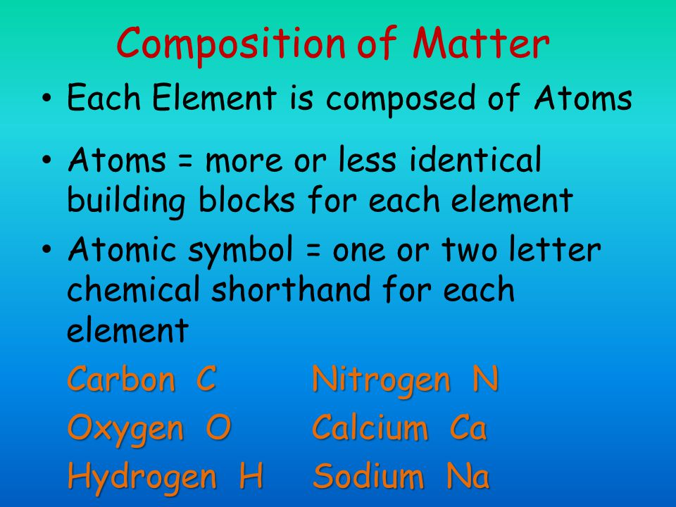 Atomic Structure The nucleus consists of neutrons and protons – Neutrons – have no charge and a mass of one atomic mass unit (amu) – Protons – have a positive charge and a mass of 1 amu
