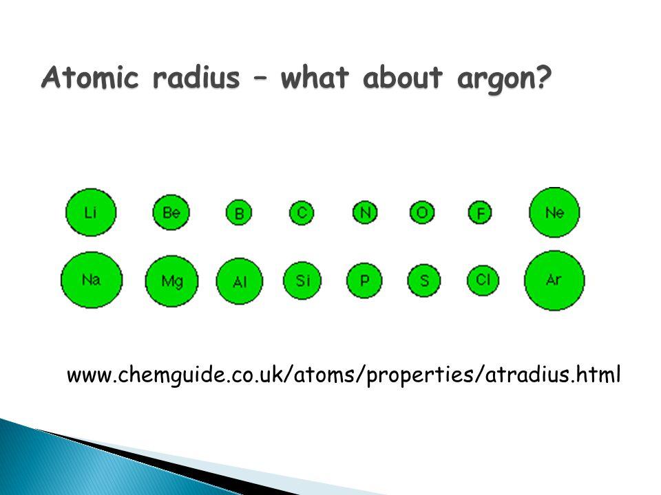 What is atomic radius?