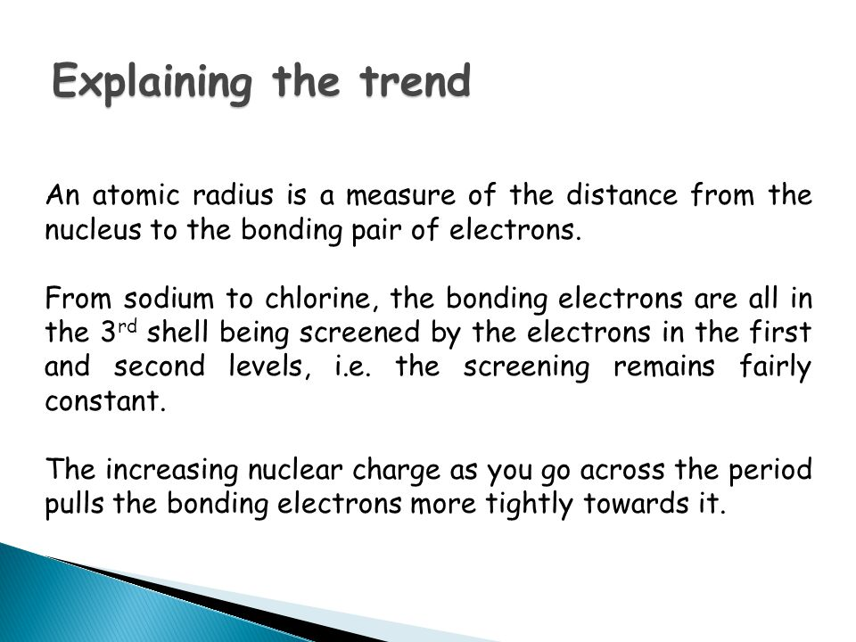 Candidates should be able to: describe the trends in volatility and colour of chlorine, bromine and iodine.