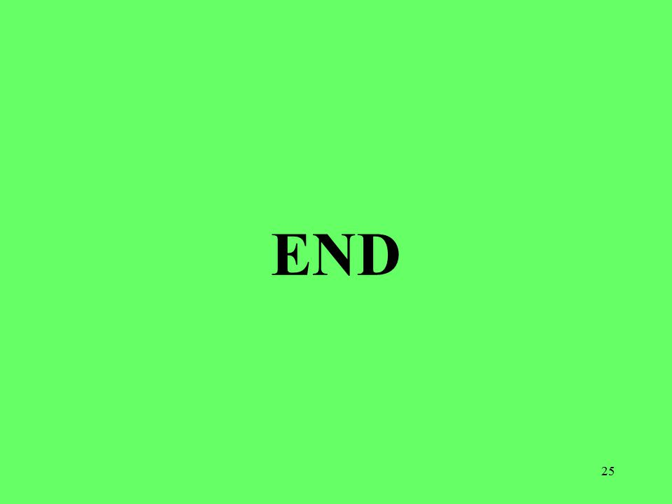 25 END