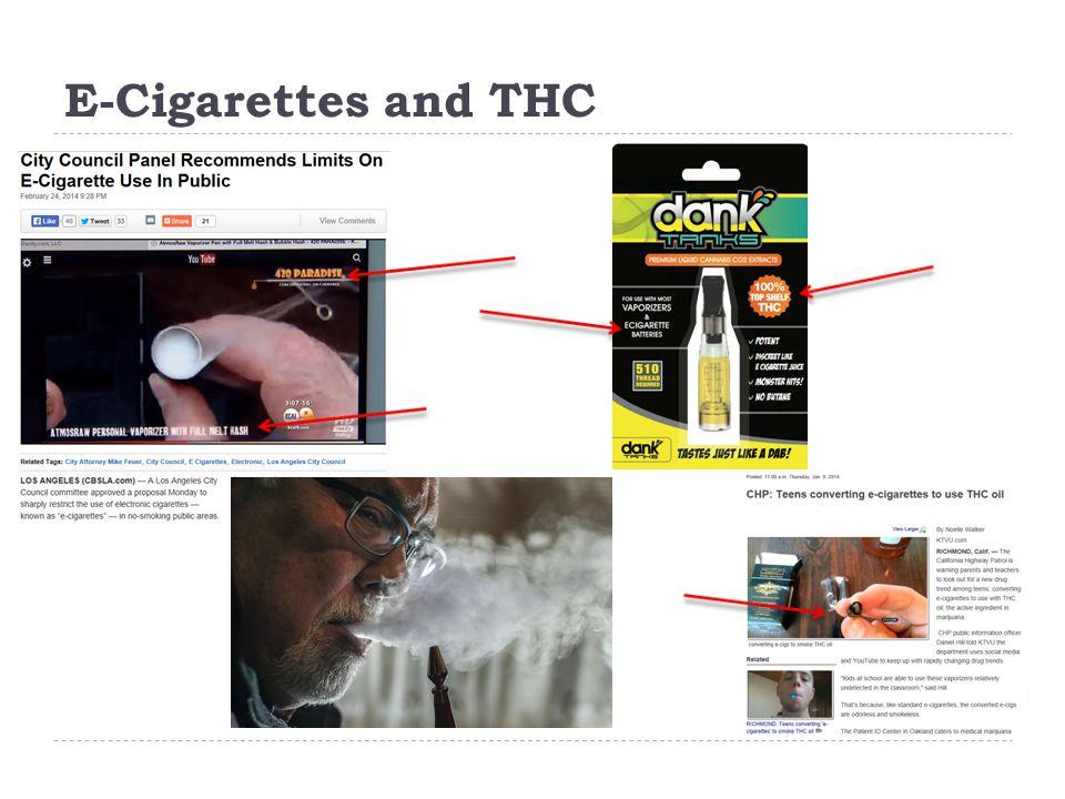 E-Cigarettes and THC