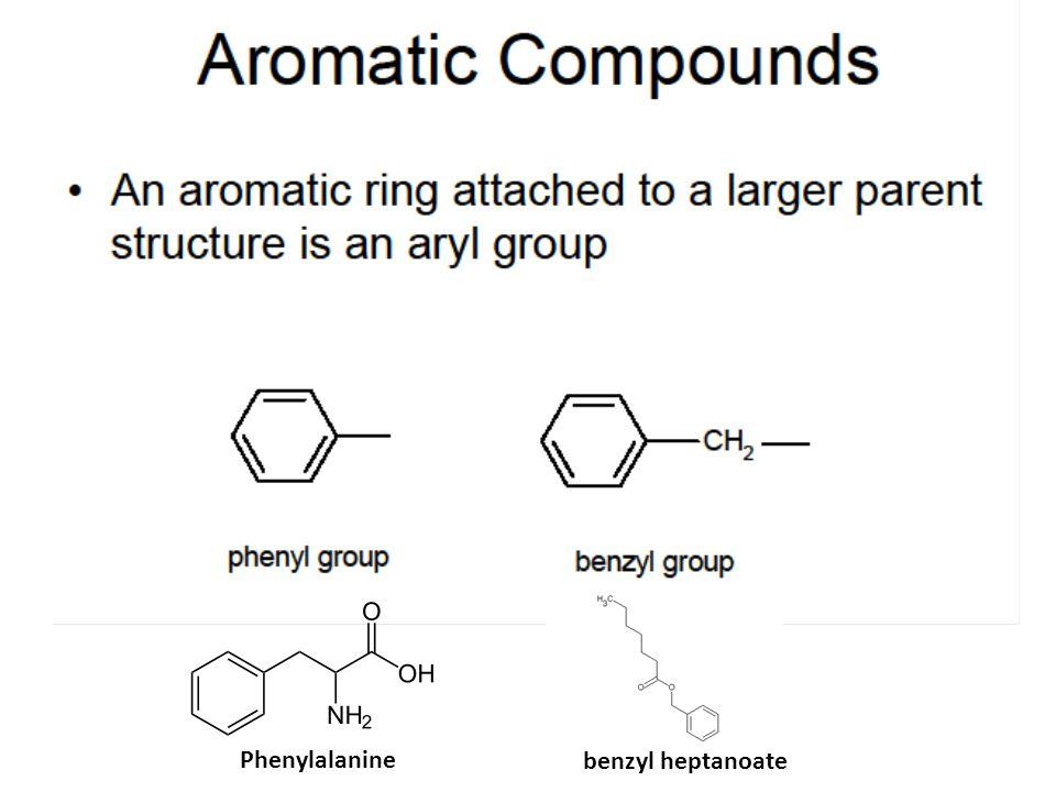 Phenylalanine benzyl heptanoate