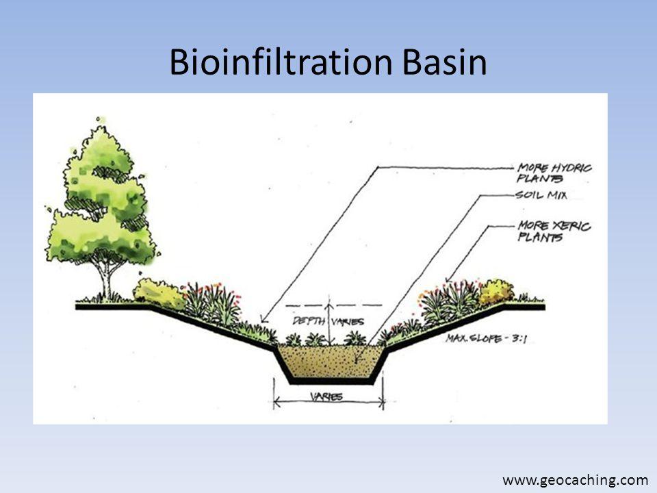 Bioinfiltration Basin www.geocaching.com