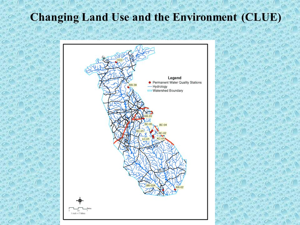 Changing Land Use and the Environment (CLUE)