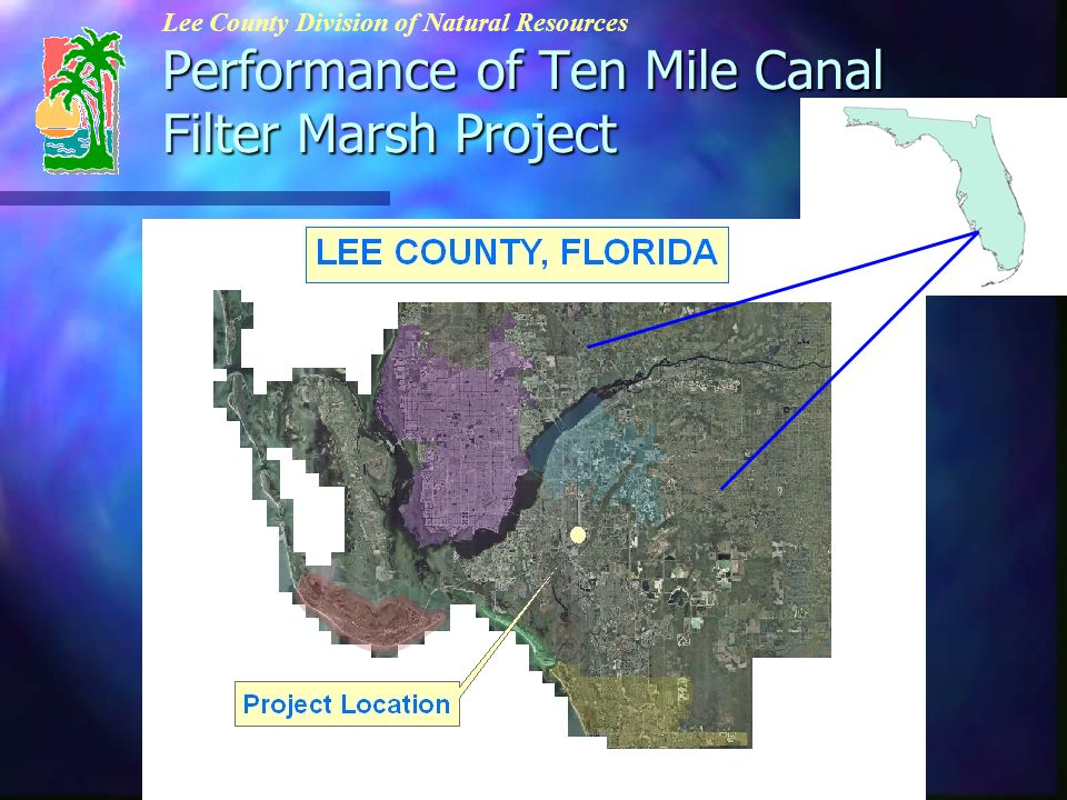 Ten Mile and Six Mile Watersheds (approximate area = 43,000 acres) Ten Mile Canal Watershed (Approx.