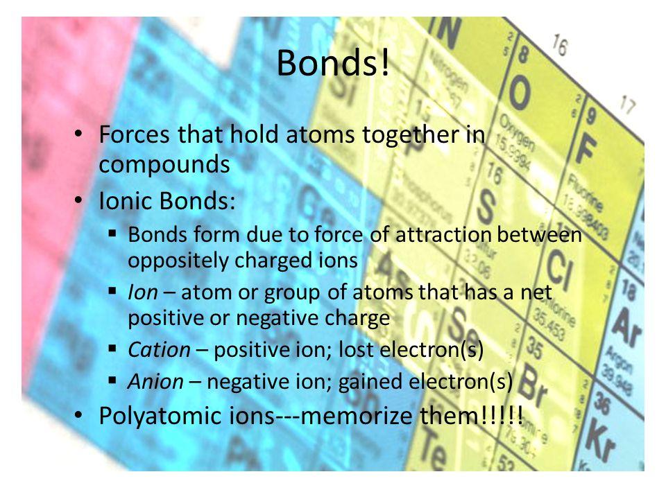 Bonds.