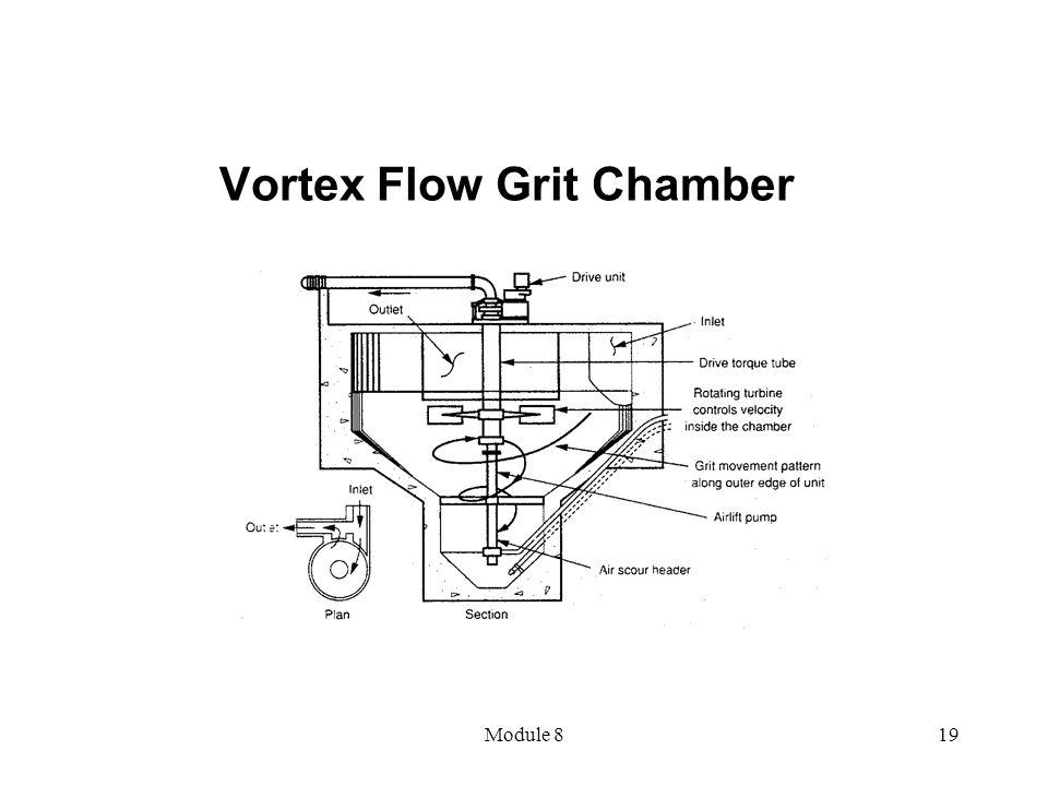 Module 819 Vortex Flow Grit Chamber