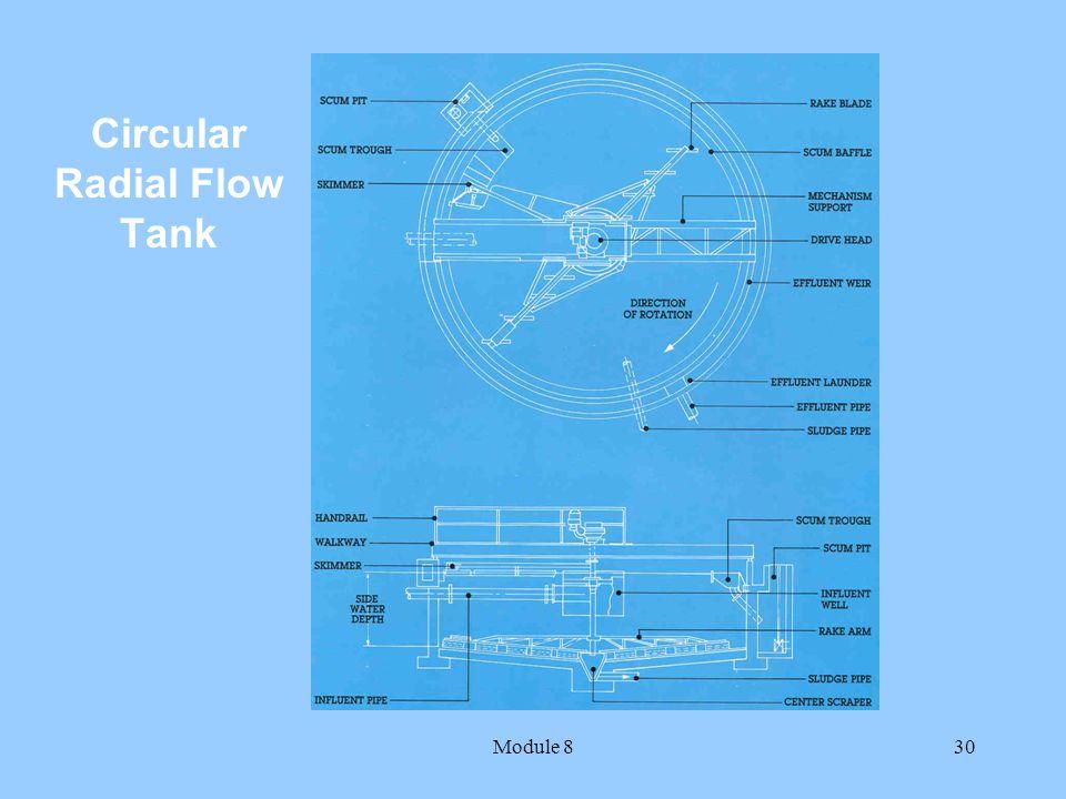 Module 830 Circular Radial Flow Tank