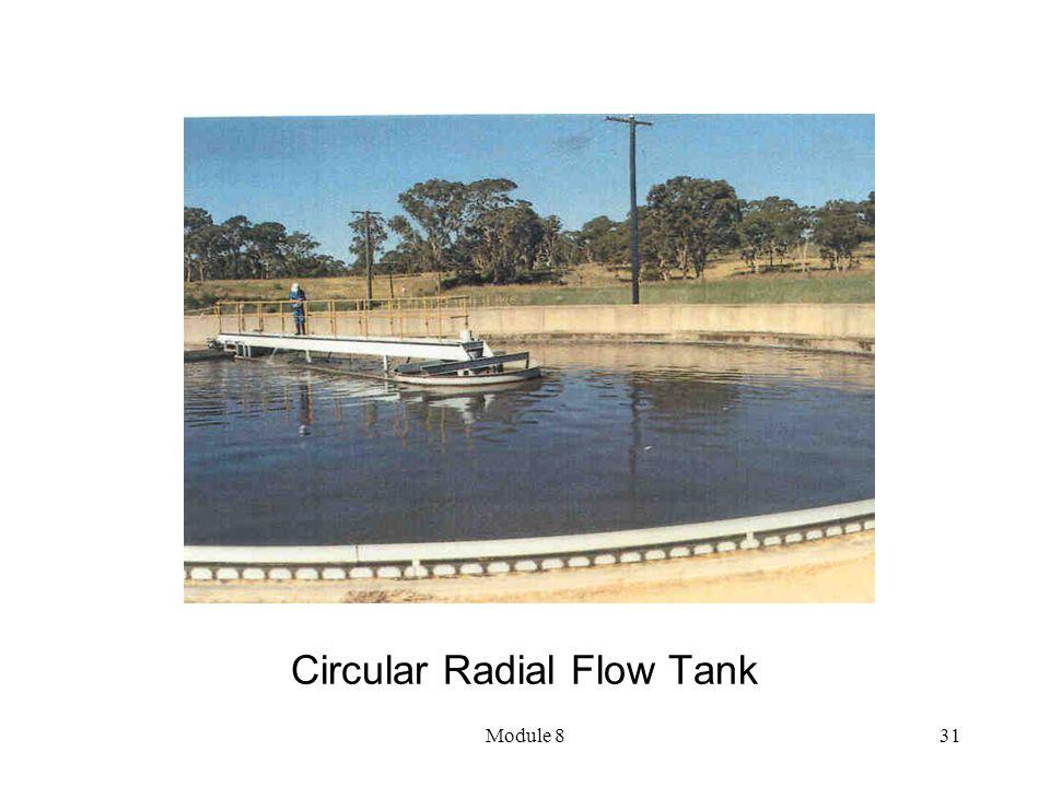 Module 831 Circular Radial Flow Tank