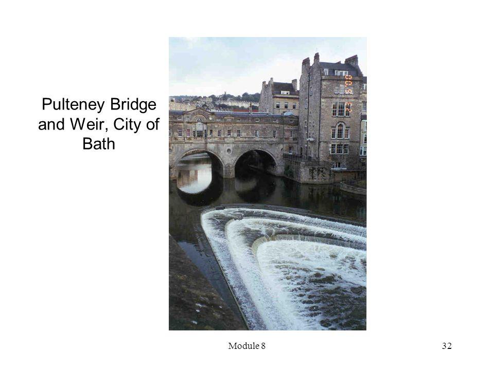 Module 832 Pulteney Bridge and Weir, City of Bath