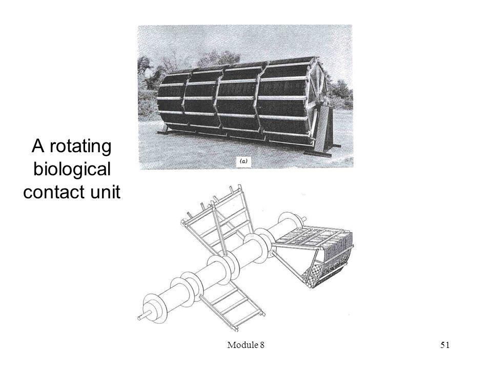 Module 851 A rotating biological contact unit