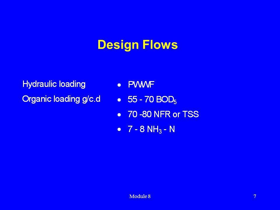 Module 87 Design Flows