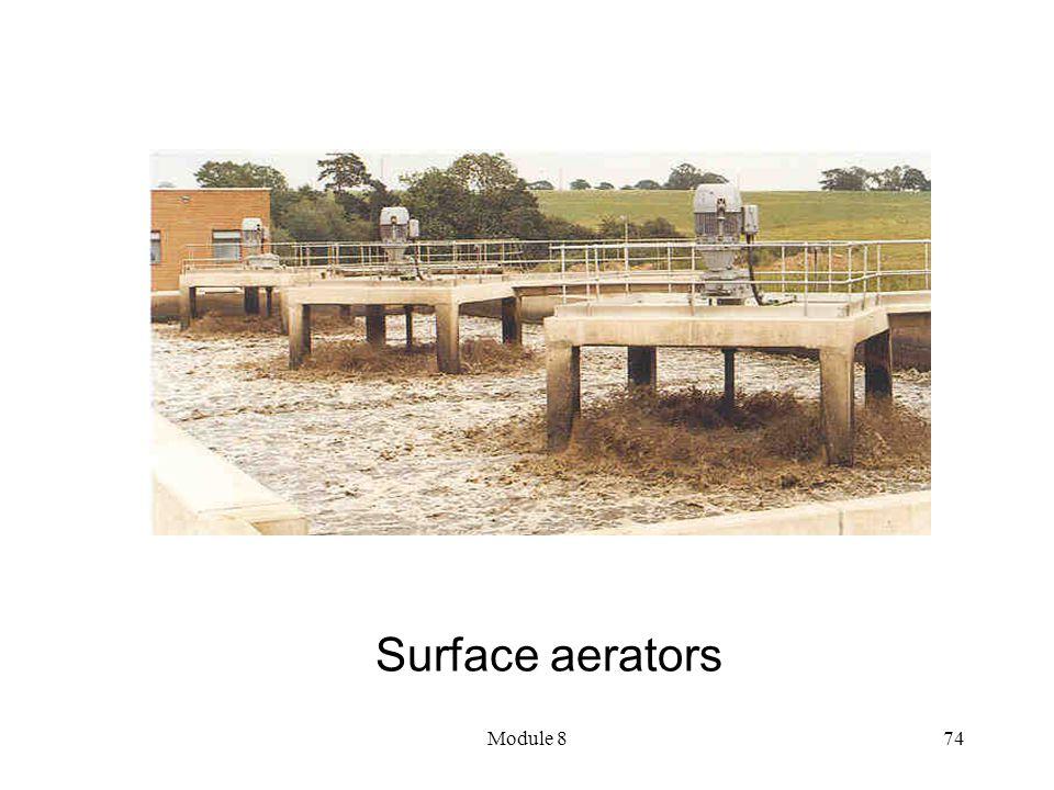Module 874 Surface aerators