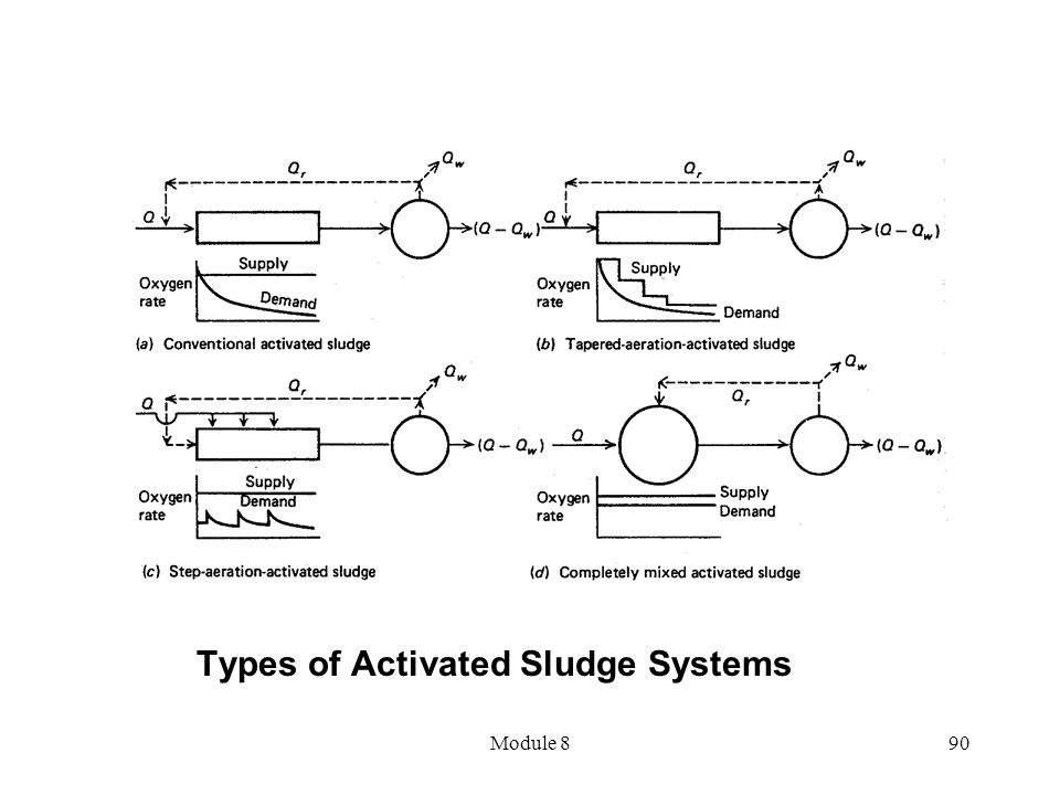 Module 890 Types of Activated Sludge Systems