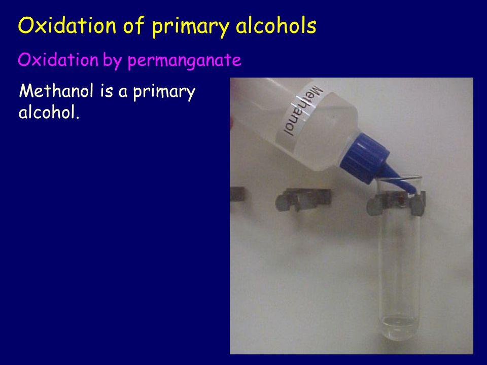 Acidify the methanol with dilute sulfuric acid.