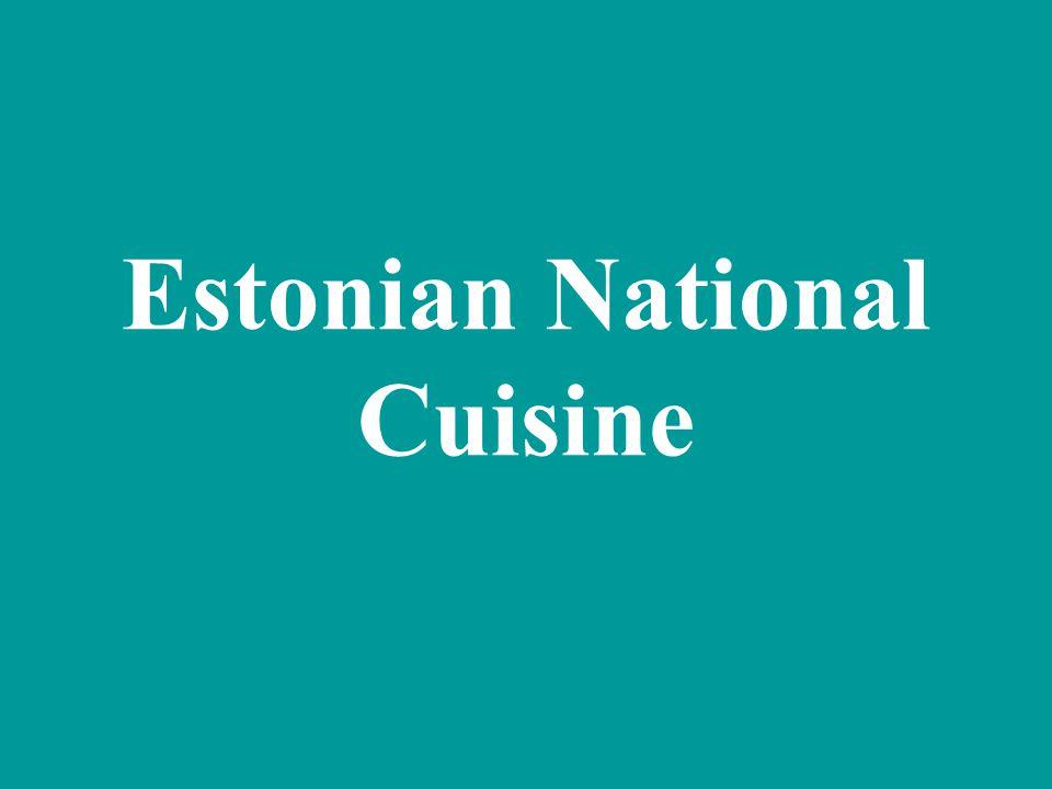 The Baltic herring became national fish of Estonia.