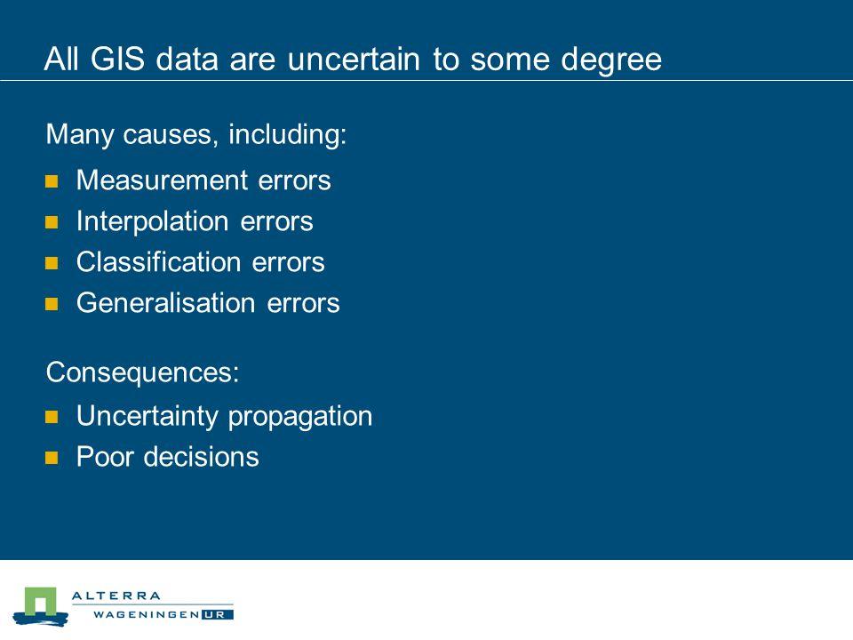 Stage 2: Help identify sources of error Source description Types of error sources
