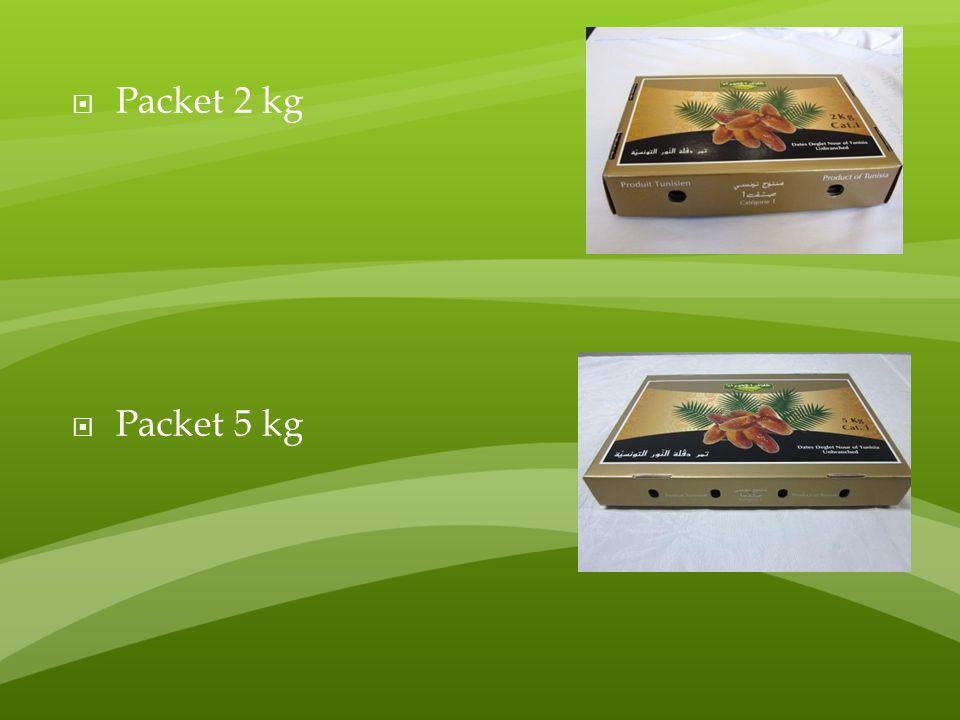  Packet 2 kg  Packet 5 kg