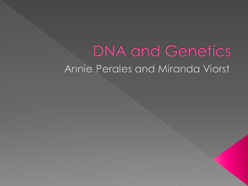  DNA is hereditary information in the form of a large molecule titled deoxyribonucleic acid.
