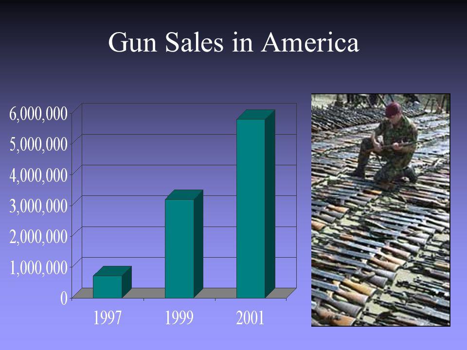 Gun Sales in America