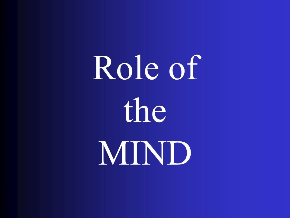 Role of the MIND