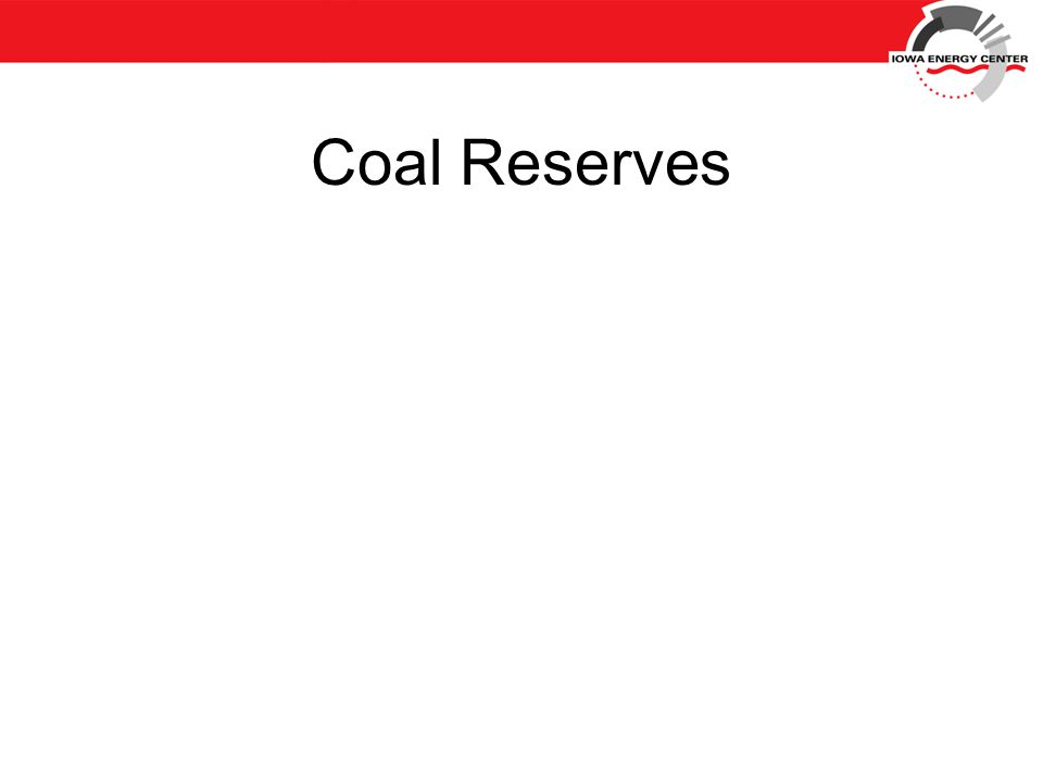 Coal Reserves