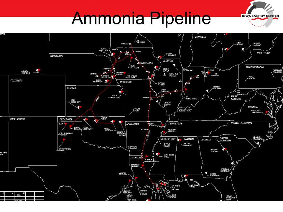 Ammonia Pipeline