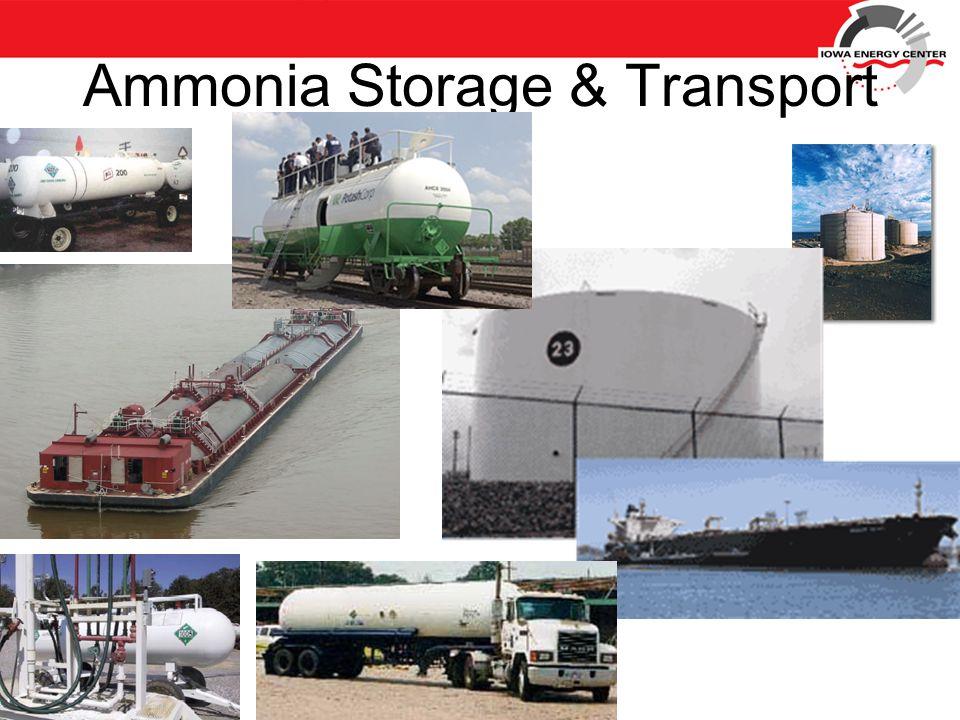 Ammonia Storage & Transport