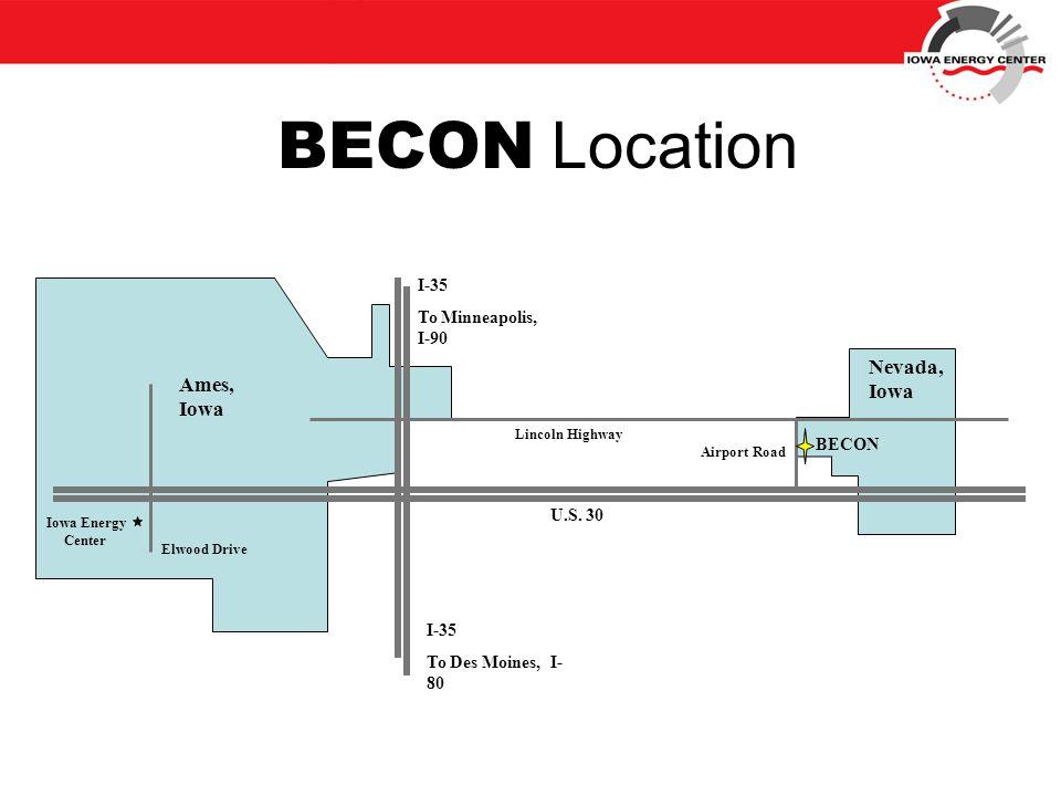 BECON Location Airport Road U.S.