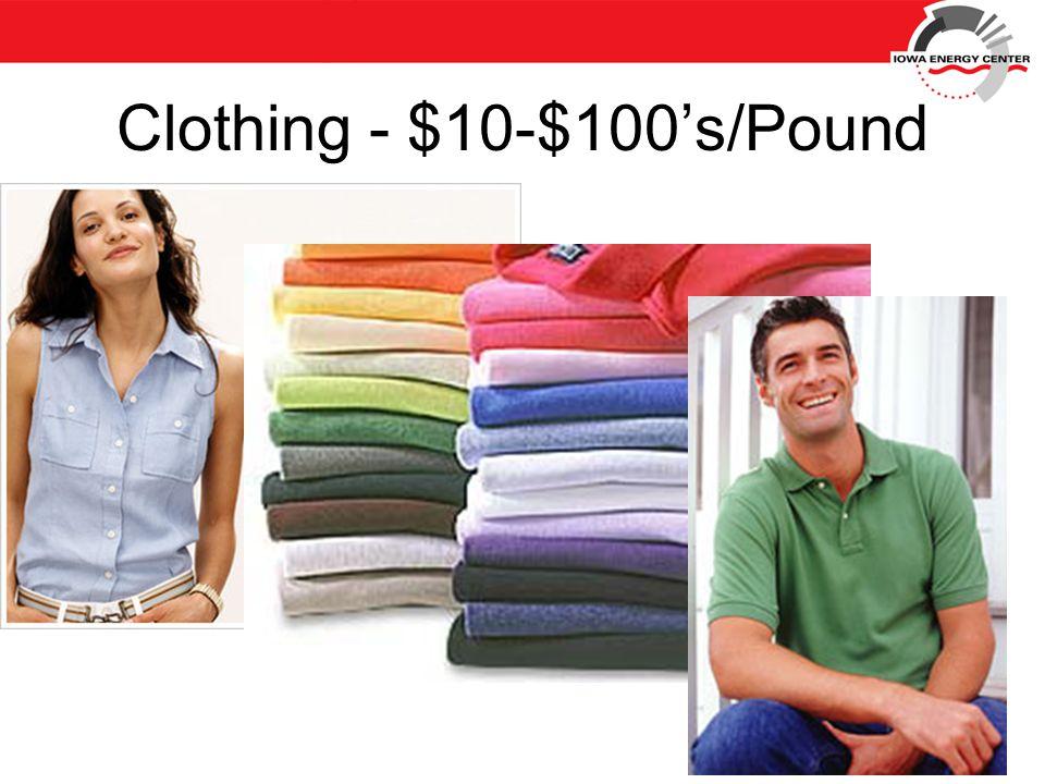 Clothing - $10-$100's/Pound