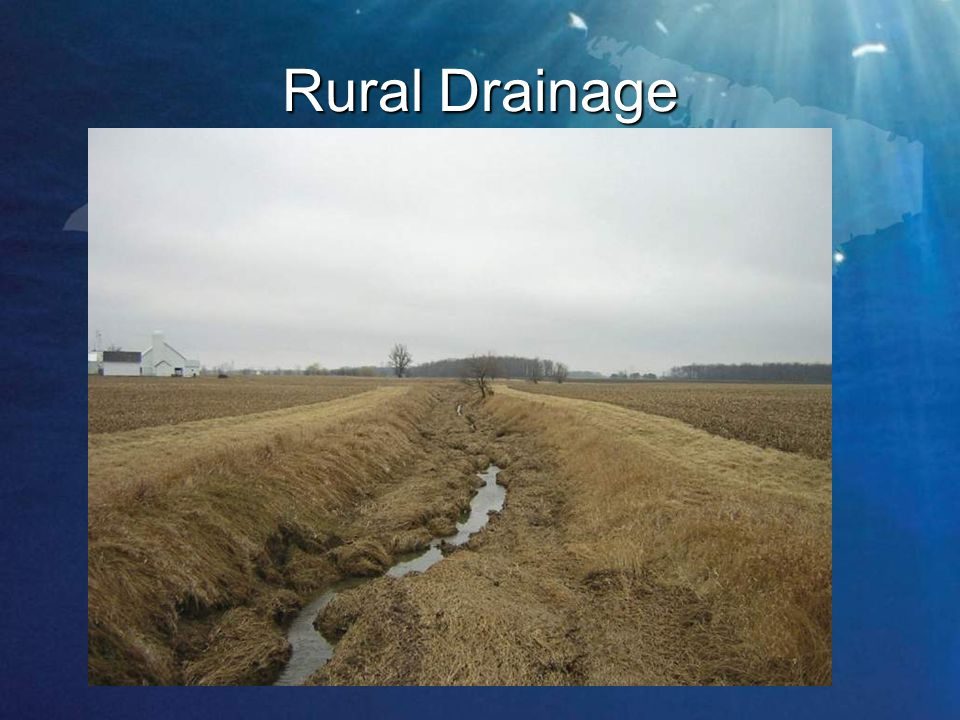 Rural Drainage