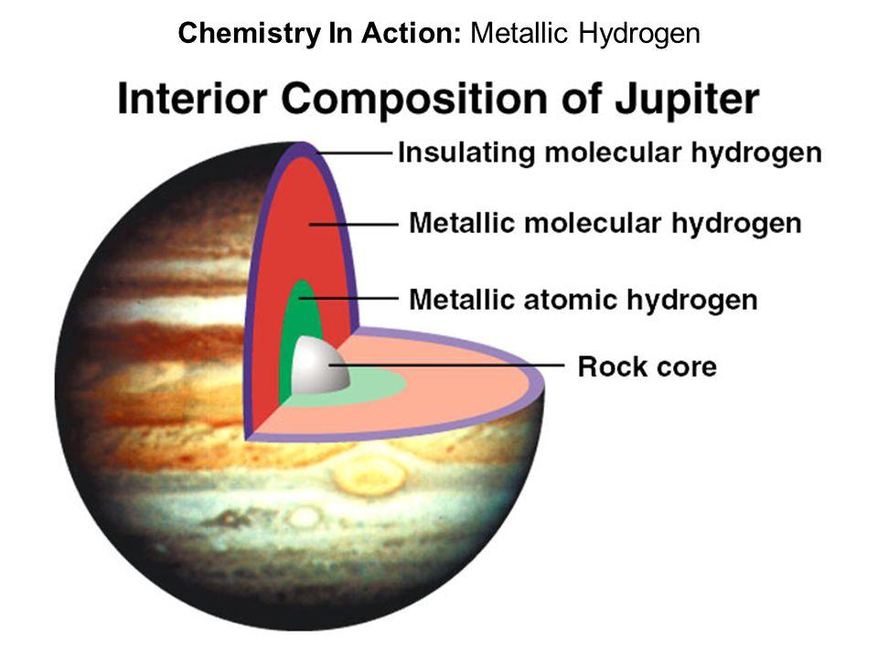 Chemistry In Action: Metallic Hydrogen
