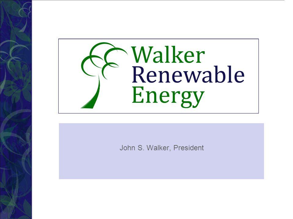 John S. Walker, President