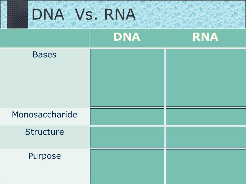 DNA Vs.