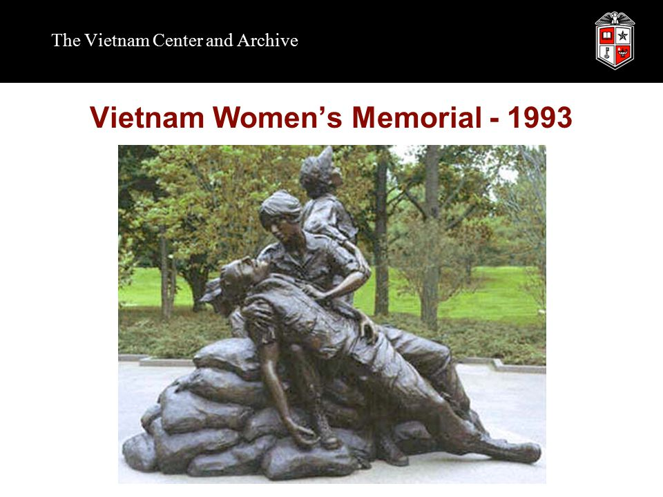 The Vietnam Center and Archive Vietnam Women's Memorial - 1993
