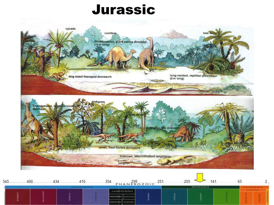 545 490 434 410 354 298 251 205 141 65 2 Jurassic