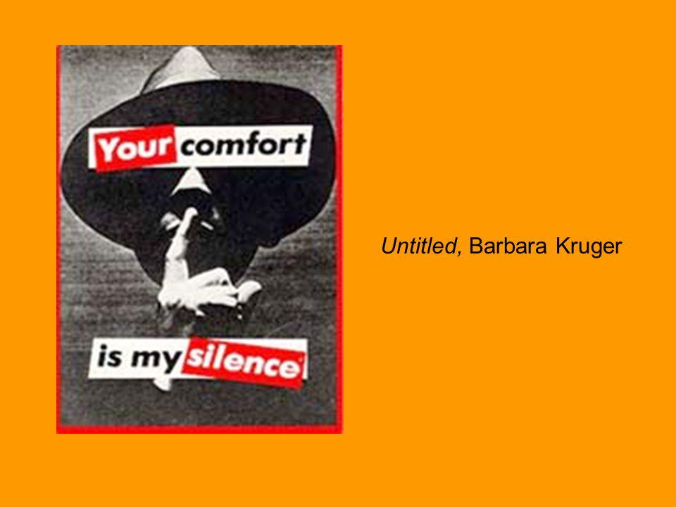 Untitled, Barbara Kruger, 1986