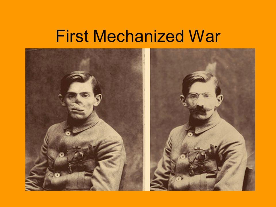 World War I: 1914-1918 Trench Warfare