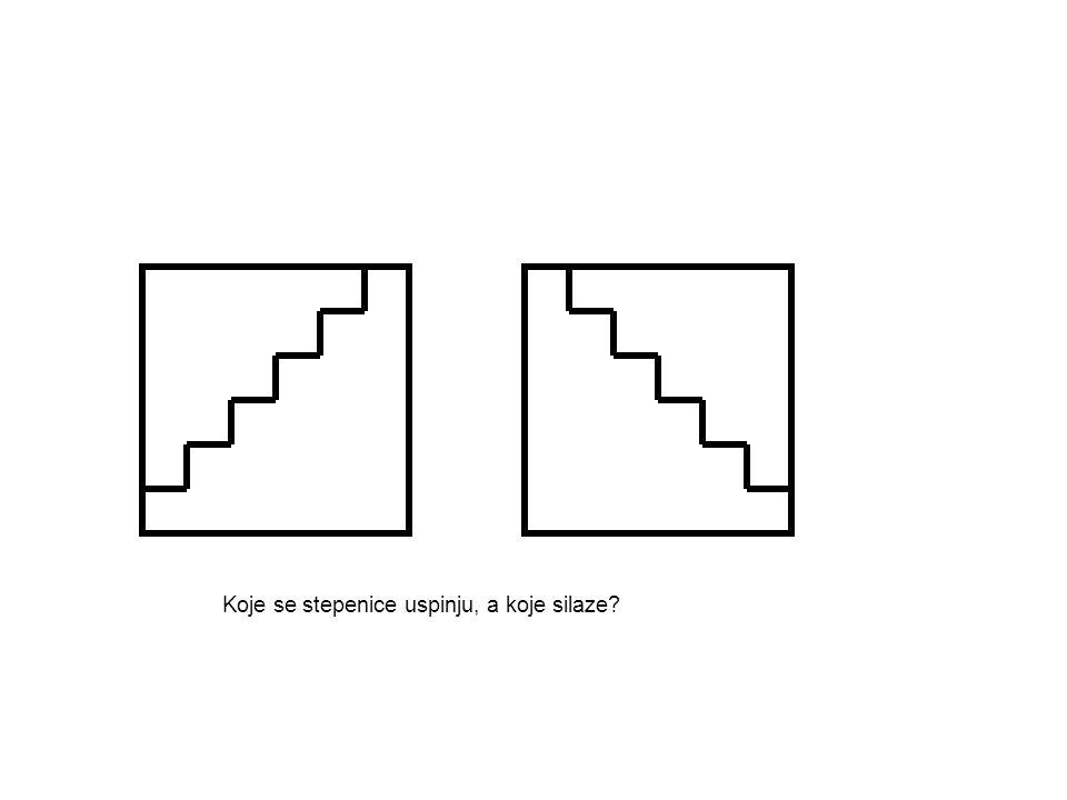 Koje se stepenice uspinju, a koje silaze?