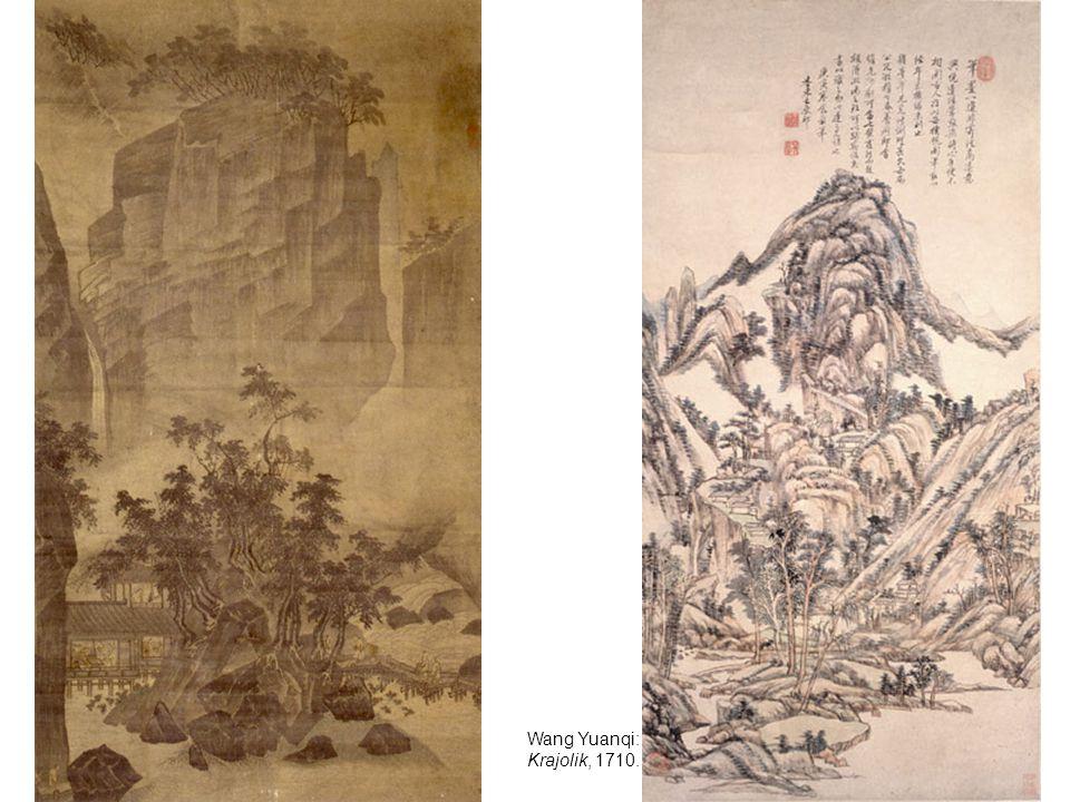 Wang Yuanqi: Krajolik, 1710.