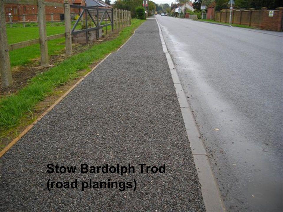 Stow Bardolph Trod (road planings)